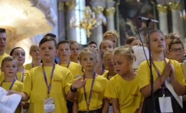 Letnia Szkółka Muzyczna w Głogówku - Koncert Uwielbienia_2