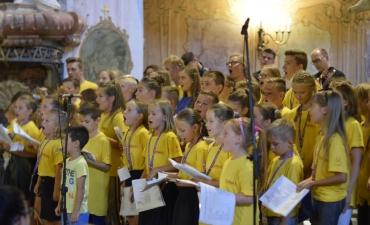 Letnia Szkółka Muzyczna w Głogówku - Koncert Uwielbienia_3