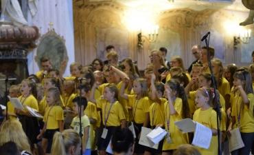 Letnia Szkółka Muzyczna w Głogówku - Koncert Uwielbienia