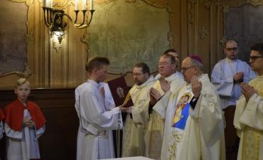 Nasz parafianin odznaczony krzyżem Pro eclesia et pontifice_43