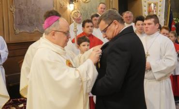 Nasz parafianin odznaczony krzyżem Pro eclesia et pontifice_66