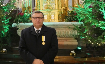 Nasz parafianin odznaczony krzyżem Pro eclesia et pontifice_81