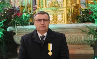 Nasz parafianin odznaczony krzyżem Pro eclesia et pontifice_82
