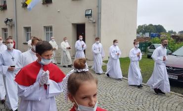 Odpust ku czci św. Bartłomieja Ap. i święceń diakonatu Dariusza Karbowskiego A.D. 2020_5