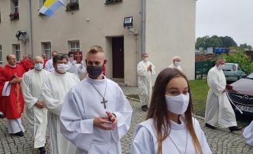 Odpust ku czci św. Bartłomieja Ap. i święceń diakonatu Dariusza Karbowskiego A.D. 2020_6