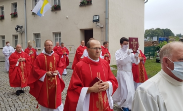 Odpust ku czci św. Bartłomieja Ap. i święceń diakonatu Dariusza Karbowskiego A.D. 2020_7