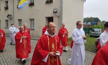 Odpust ku czci św. Bartłomieja Ap. i święceń diakonatu Dariusza Karbowskiego A.D. 2020_8