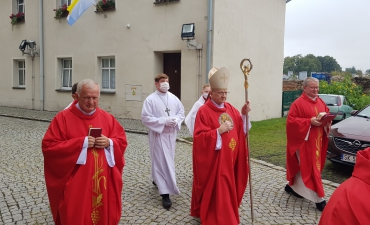 Odpust ku czci św. Bartłomieja Ap. i święceń diakonatu Dariusza Karbowskiego A.D. 2020_9